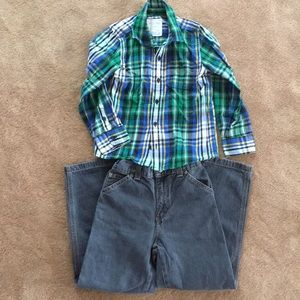 Boys Sonoma outfit size 7